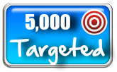 5,000 Targeted Visitors